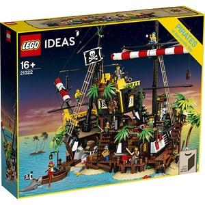 LEGO Ideas: Pirates of Barracuda Bay 21322, 16 ani+, 2545 piese