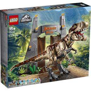 LEGO Jurassic World: Jurassic Park: T. rex Rampage 75936, 16 ani+, 3120 piese