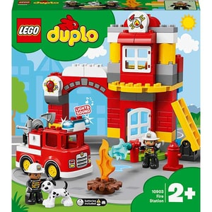 LEGO Duplo: Statie de pompieri 10903, 2 ani+, 21 piese