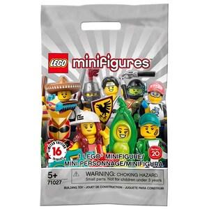LEGO Minifigures: Seria 20 71027, 5 ani+, 8 piese