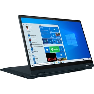"Laptop 2 in 1 LENOVO Flex 5 14ALC05, AMD Ryzen 5 5500U pana la 4.0GHz, 14"" Full HD Touch, 8GB, SSD 256GB, AMD Radeon Graphics, Windows 10 Home, Abyss Blue"