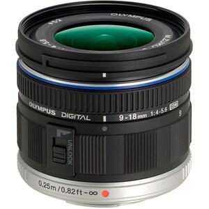 Obiectiv foto OLYMPUS M.ZUIKO Digital ED 9-18mm f/4.0-5.6, negru