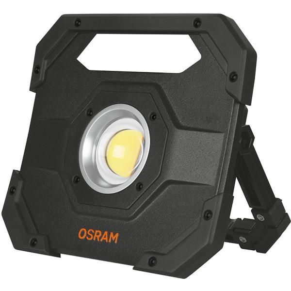 Lampa de lucru OSRAM LEDIL FLOOD 10W, 10 LED-uri, 1000 lumeni, cu acumulator, negru