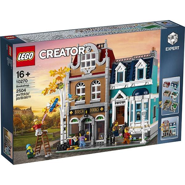 LEGO Creator Expert: Bookshop 10270, 16 ani+, 2504 piese