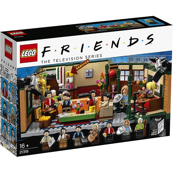 LEGO Ideas: Central Perk 21319, 16 ani+, 1070 piese