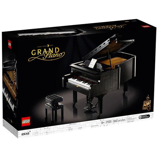 LEGO Ideas: Grand Piano 21323, 18 ani+, 3662 piese