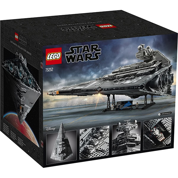 LEGO Star Wars: Imperial Star Destroyer 75252, 16 ani+, 4784 piese