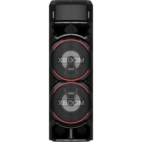 Sistem audio LG XBOOM RN9, Bluetooth, FM, Karaoke, negru