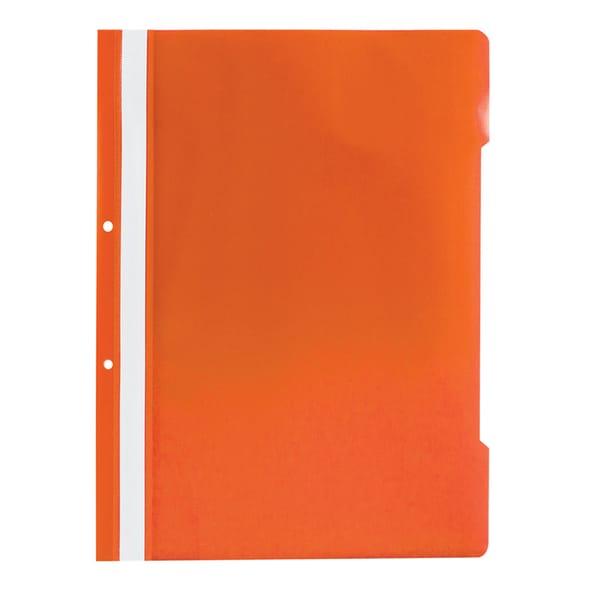Dosar cu sina NOKI, A4, plastic, 25 bucati, portocaliu