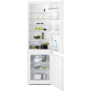 Combina frigorifica incorporabila ELECTROLUX LNT3FF18S, Static low frost, 267 l, H 177.2 cm, Clasa F, alb