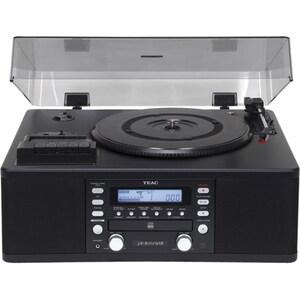 Pick-up cu CD, Tuner si Casetofon TEAC LP-R550USB, USB, negru