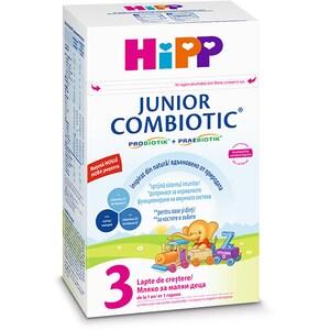 Lapte praf HIPP Junior Combiotic 3 1340, 12 luni+, 500g