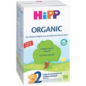 Formula speciala de lapte HIPP Organic 2 1342, 6 luni+, 300g