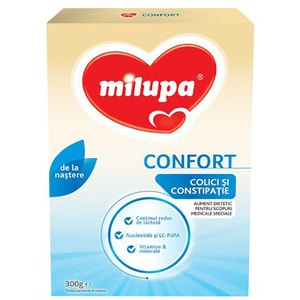 Formula speciala de lapte MILUPA MILUMIL Confort 574387, 0 luni+, 300g