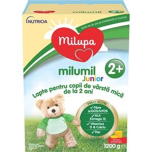 Lapte praf MILUPA MILUMIL Junior 2+ PreciNutri 586890, 2 ani+, 1200g