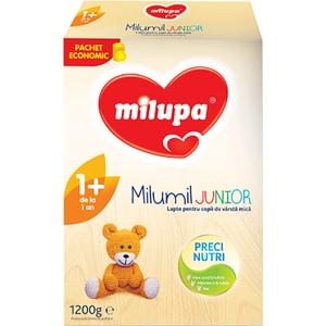 Lapte praf MILUPA MILUMIL Junior 1+ PreciNutri 586901, 12 luni+, 1200g
