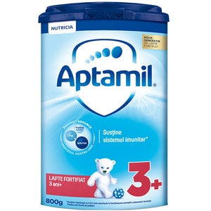Lapte praf APTAMIL Junior 3+ Pronutra Advance 591029, 3 ani+, 800g