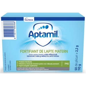 Fortifiant de lapte matern APTAMIL ProExpert 614068, 0 luni+, 110g