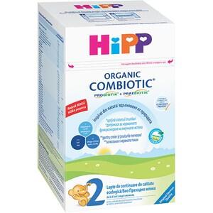 Lapte praf HIPP Organic Combiotic 2 1394, 6 luni+, 800g
