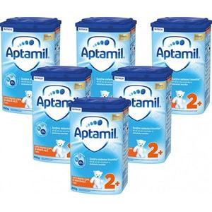 Pachet 6 x lapte praf APTAMIL Junior 2+ Pronutra Advance PACK02, 2 ani+, 800g