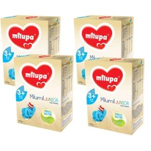Pachet 4 x lapte praf MILUPA MILUMIL Junior 3+ PreciNutri PACK06, 3 ani+, 600g