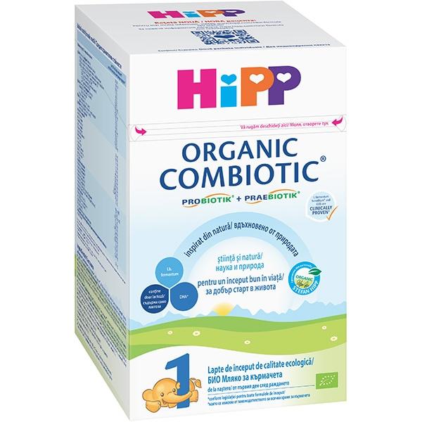 Lapte praf HIPP Organic Combiotic 1 1342, 0 luni+, 800g