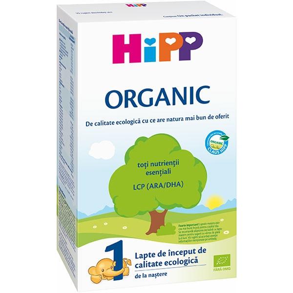 Formula speciala de lapte HIPP Organic 1 1342, 0 luni+, 300g
