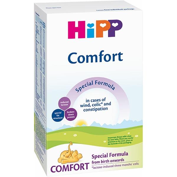 Formula speciala de lapte HIPP Comfort 1287, 0 luni+, 300g