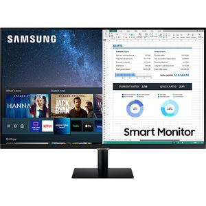 """Monitor LED VA SAMSUNG LS32AM700PRXEN, 32"""", 4K UHD, 60Hz, Flicker Free, negru"""
