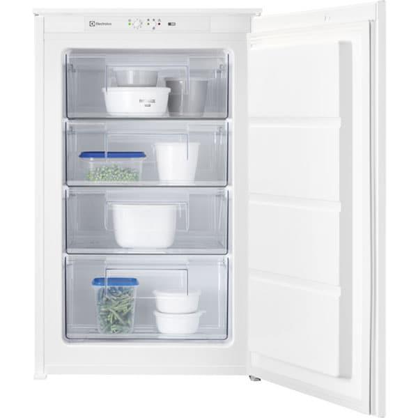 Congelator incorporabil ELECTROLUX LUB3AE88S, Static low frost, 98 l, H 87.3 cm, Clasa E, alb