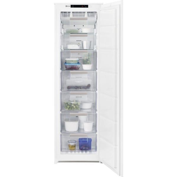 Congelator incorporabil ELECTROLUX LUT6NF18S, No Frost, 204 l, H 177.2 cm, Clasa F, alb