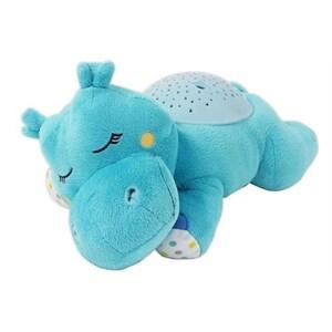 Lampa cu sunete si proiectii SUMMER INFANT Hippo, albastru deschis
