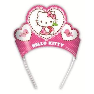 Coronita din gama Party Hello Kitty, 6 bucati/set