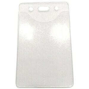 Ecuson vertical RTC, PVC, 64 x 102 mm, transparent