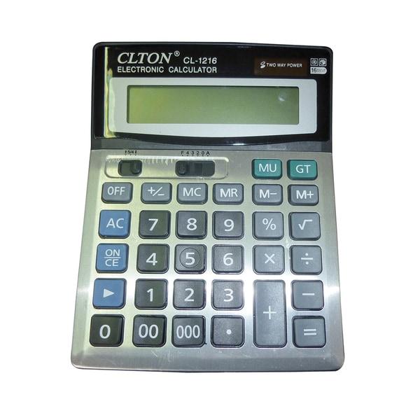 Calculator de birou NOKI, 16 cifre, gri