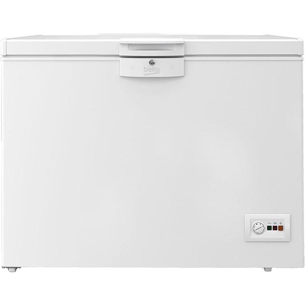 Lada frigorifica BEKO HSA24540N, 230 l, H 86 cm, Clasa E, alb