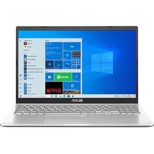 """Laptop ASUS X515JA-BQ1488T, Intel Core i3-1005G1 pana la 3.4GHz, 15.6"""" Full HD, 8GB , SSD 256GB, Intel UHD Graphics, Windows 10 Home, argintiu"""