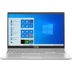 "Laptop ASUS X515MA-BR037T, Intel Celeron N4020 pana la 2.8GHz, 15.6"" HD, 4GB, SSD 256GB, Intel UHD Graphics 600, Windows 10 Home, argintiu"