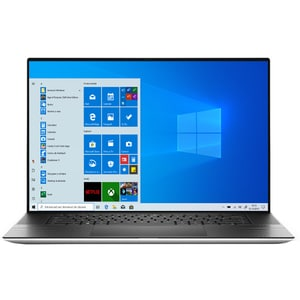 "Laptop DELL XPS 9700, Intel Core i9-10885H pana la 5.3GHz, 17"" UHD+ Touch, 32GB, SSD 1TB, NVIDIA GeForce RTX Max-Q 2060 6GB , Windows 10 Pro, argintiu"