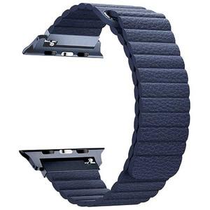Bratara pentru Apple Watch 42mm, PROMATE Lavish-42, albastru