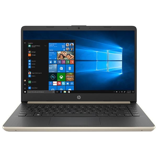"Laptop HP 14s-dq1004nq, Intel Core i7-1065G7 pana la 3.9GHz, 14"" Full HD, 8GB, SSD 256GB, Intel Iris Plus Graphics, Windows 10 Home, Pale Gold"