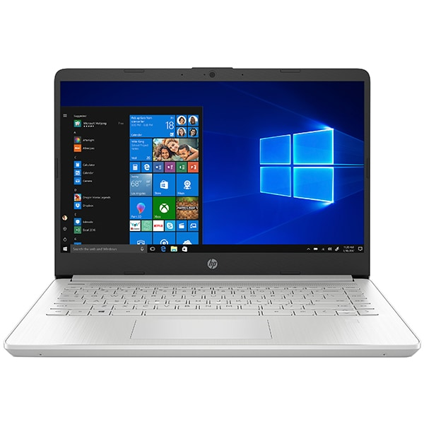 "Laptop HP 14s-dq1005nq, Intel Core i7-1065G7 pana la 3.9GHz, 14"" Full HD, 8GB, SSD 512GB, Intel Iris Plus Graphics, Windows 10 Home, argintiu"