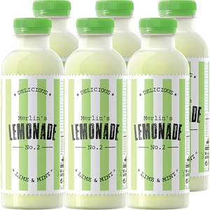 Limonada NO. 2 Lime&Mint bax 0.6L x 6 sticle