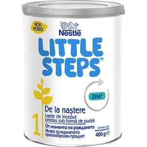 Lapte praf NESTLE Little Steps 1 12398277, 0 luni+, 400g