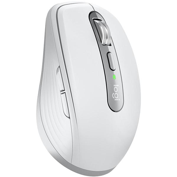 Mouse Wireless LOGITECH MX Anywhere 3, 4000 dpi, gri deschis
