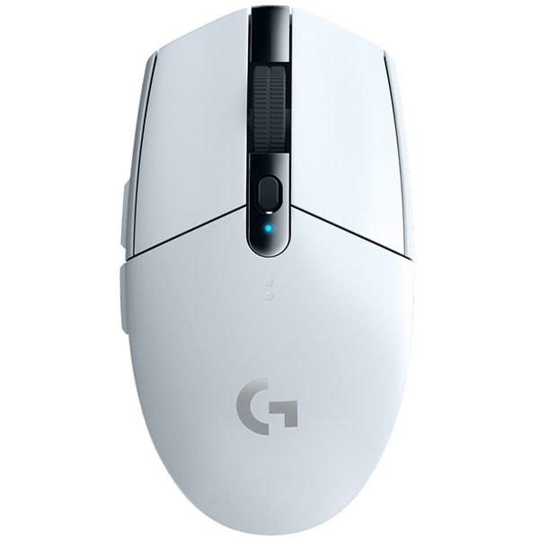 Mouse Gaming Wireless LOGITECH G305 Lightspeed, 12000 dpi, alb
