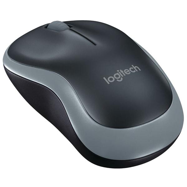 Mouse Wireless LOGITECH M185, 1000 dpi, negru