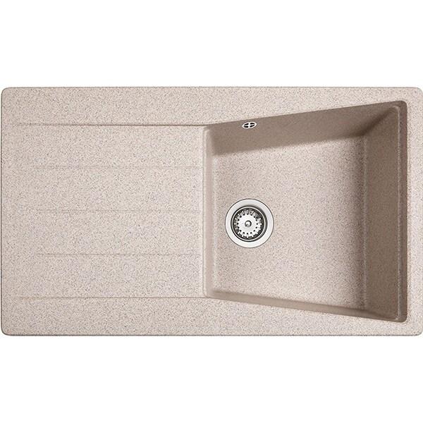 Chiuveta bucatarie TEKA Lumina 50 TG 1B 1D, 1 cuva, picurator reversibil, granit sandbeige