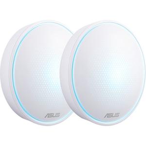 Sistem Wireless Mesh Gigabit ASUS Lyra Mini AC1300, Dual Band 400 + 867 Mbps, 2 Buc, alb