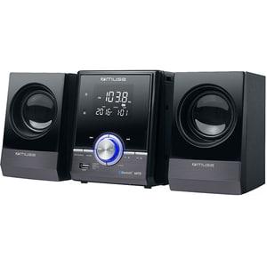 Microsistem MUSE M-38 BT, bluetooth, CD, radio, negru
